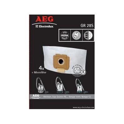 Bolsas aspirador Aeg GR28S - 1