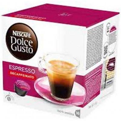 Capsulas cafe Dolce Gusto Nestle DESCAFEINADO SUAV