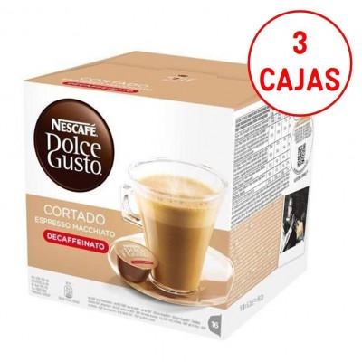 Capsulas cafe Dolce Gusto Nestle CORTADO DESCAFEI - 1