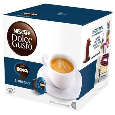 Capsulas cafe Dolce Gusto Nestle EXPRESSO BONKA (