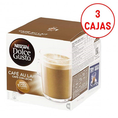 Capsulas cafe Dolce Gusto Nestle CAFE CON LECHE ( - 1