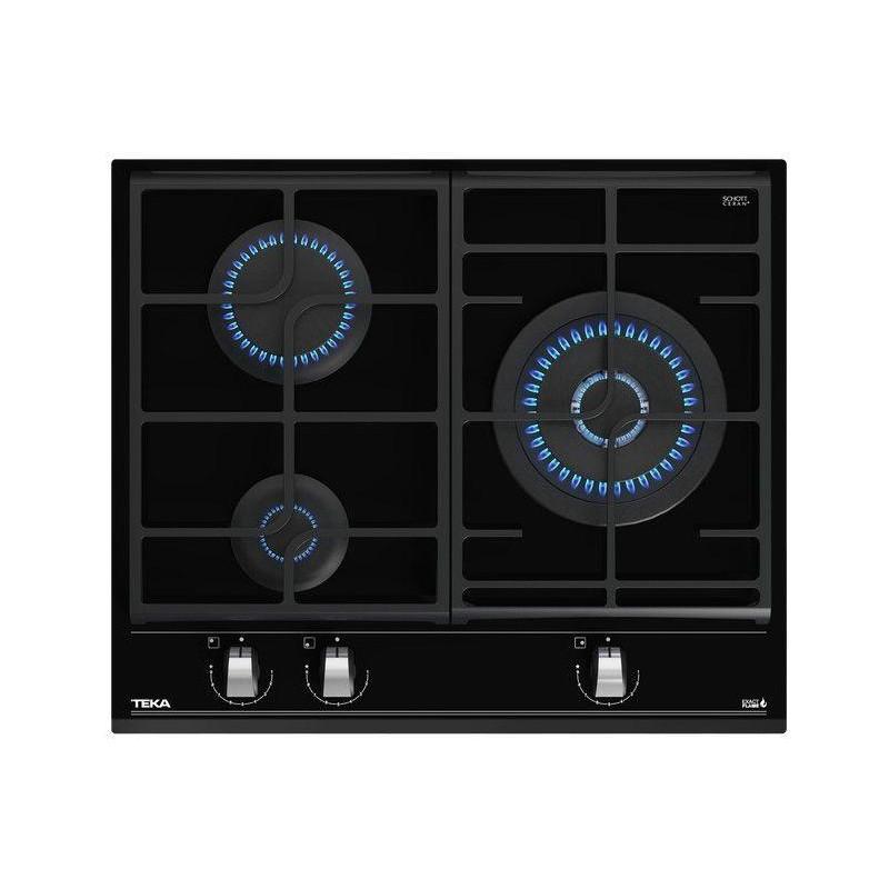 Encimera Cristalgas indep. Teka EXACTFLAMEGZC63310 - 1