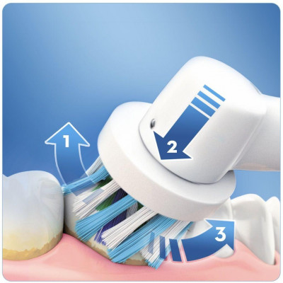 Cepillo dental Braun D100 Vitality Azul (200697) - 6