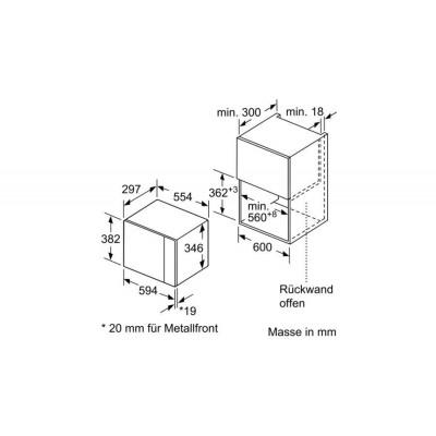 Microondas INT Bosch BFL520MS0 - 2