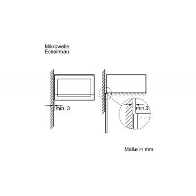 Microondas INT Bosch BFL520MS0 - 4