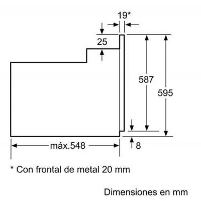 Horno indep. MF Balay 3HB2010X0 - 4