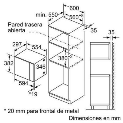 Microondas INT Balay 3CG5172N0 - 4