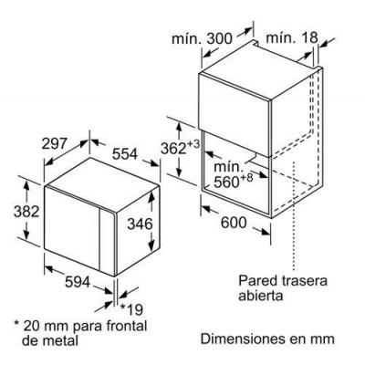 Microondas INT Balay 3CG5172N0 - 5