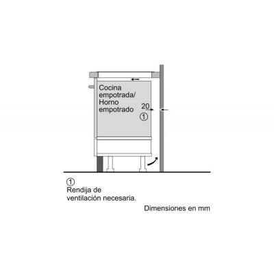 Vitroceramica induccion indep. Bosch PID631BB3E - 4