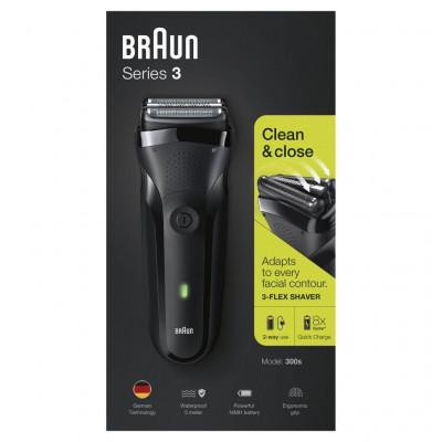 Afeitadora Braun 300SBLACK (163305) - 5