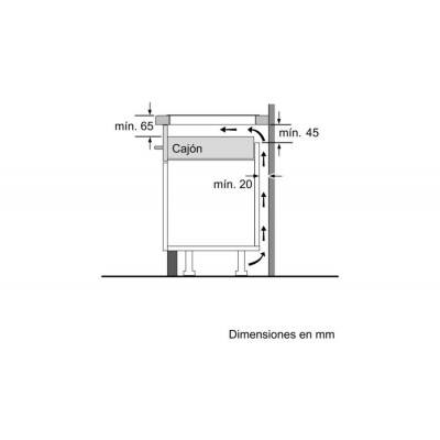 Vitroceramica induccion indep. Balay 3EB865XR - 2