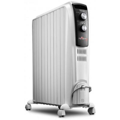 Radiador aceite Delonghi TRD041025, 2500w, blanco - 1
