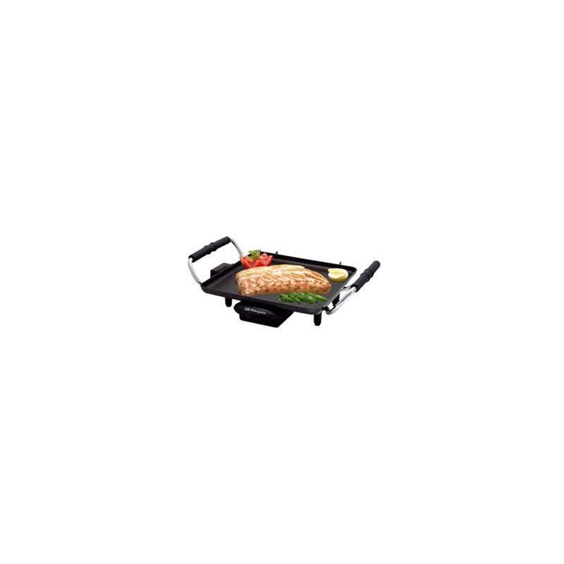 Plancha cocina Orbegozo TB2206, 1500w, negra, 27,5 - 1