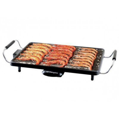Plancha cocina Orbegozo TB2203, 2000w, 22x43cm - 1