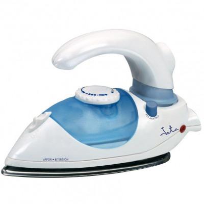 Plancha ropa Jata PL357N, 800w, suela inox, azul-b - 1
