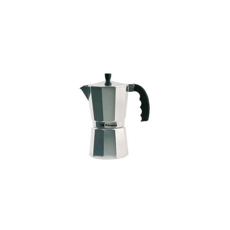Cafetera italiana Orbegozo KF900, 9 tazas, alumini - 1
