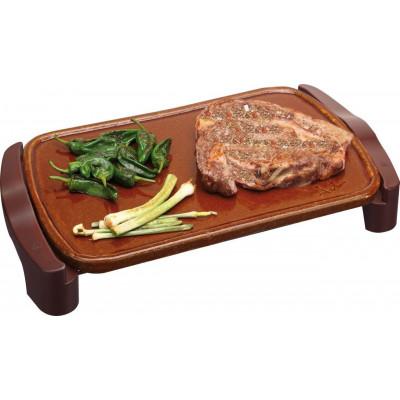 Plancha cocina Jata GR559, Terracota 46x28cm - 1
