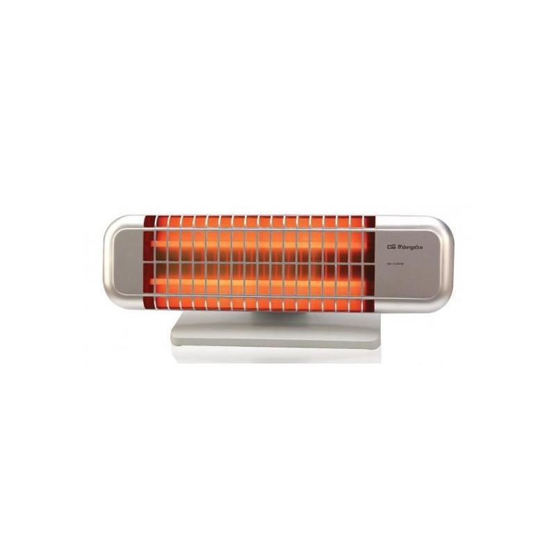 Radiador cuarzo Orbegozo BP0102, 1200w, 2 tubos, a - 1