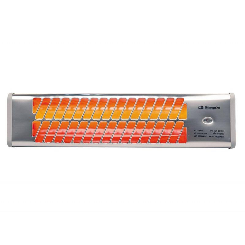 Radiador cuarzo Orbegozo BB5000, 1200w, 2 tubos, p - 1