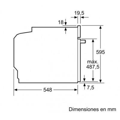 Horno MF pirolítico indep. Bosch HBG6764S1, Infini - 2