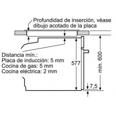 Horno MF pirolitico indep. Siemens HB673GBS1 - 3