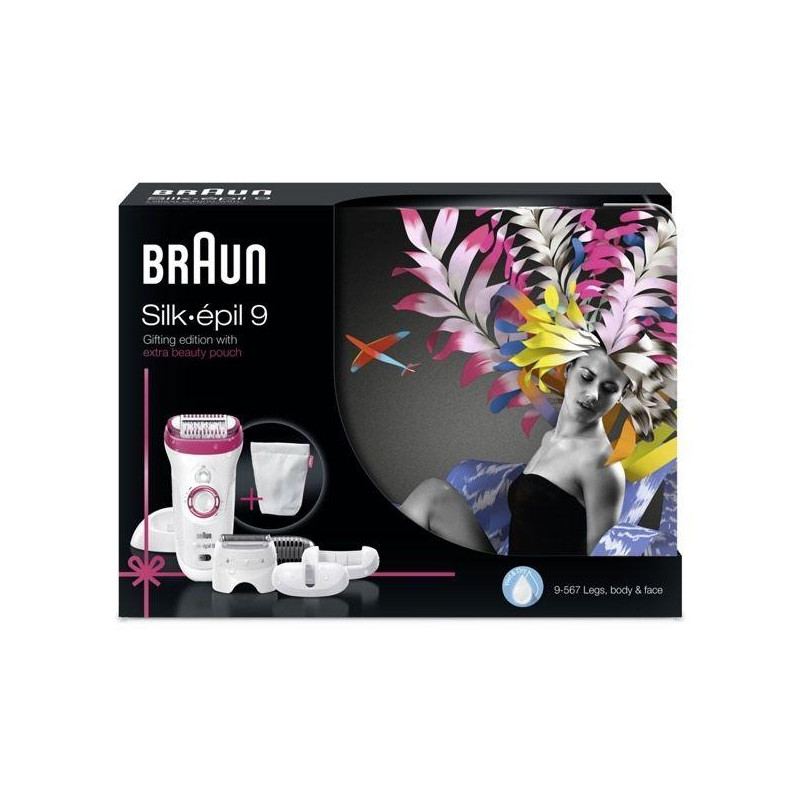 Depiladora Braun 9567 metal box, ( 60311) - 1