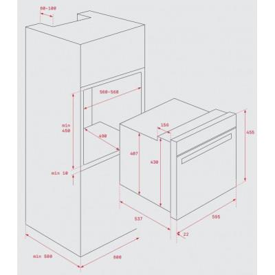 Horno MF indep. Compacto Teka HBC535INOX - 2