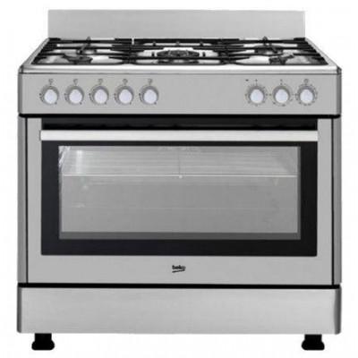 Cocina conv. Beko GM15120DXNS - 1